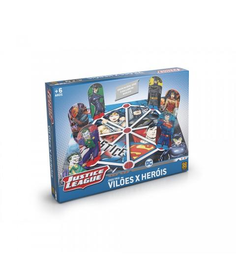 Jogo DC Comic - Trio Vilões X Herois