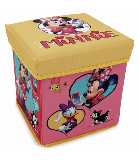 Banquinho Porta Objeto Minnie - Zippy Toys