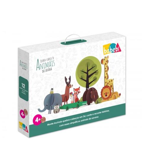 QC 3D Animais da Savana