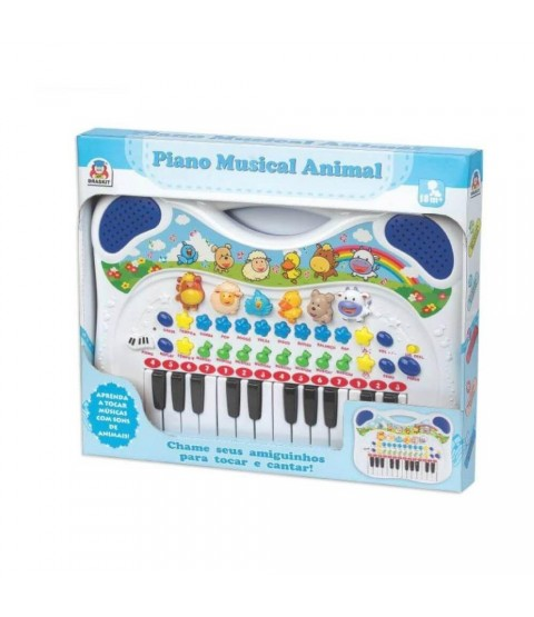 Piano Musical Animal (Azul)