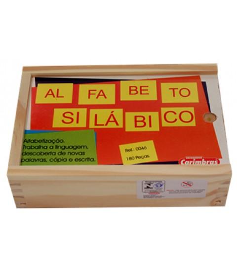 Alfabeto Silábico - 180 Peças