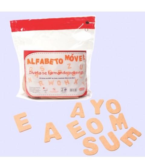 Alfabeto Móvel (40 Letras)