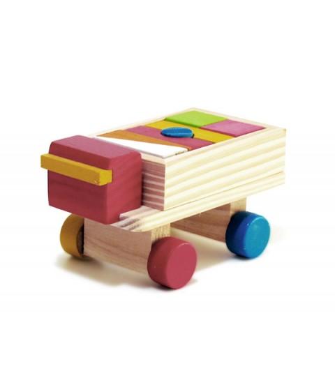 Mini Caminhão com Blocos