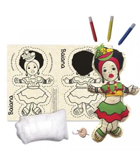 Boneca de Pano Baiana