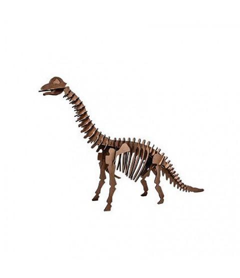 QC 3D Dinossauro Braquiossauro 52 peças MDF