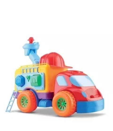 Caminhão Bombeiro de Atividades - Diver For Baby