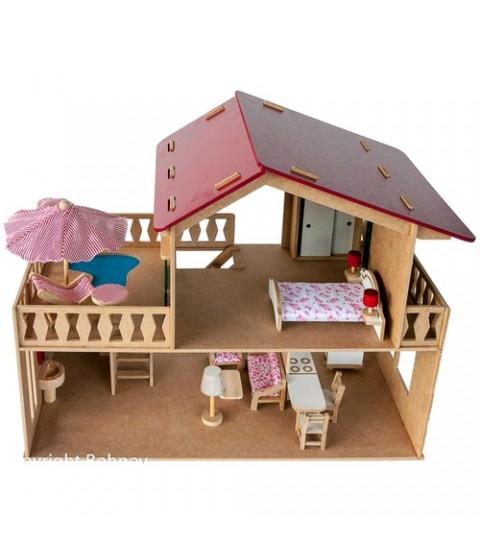 Casa com Piscina (com móveis)