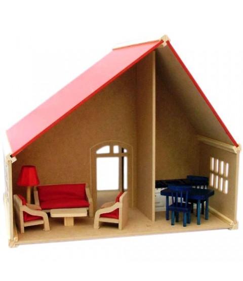 Casa de Boneca Suiça