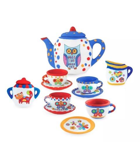 Coleção Art & Craft Conjunto de Chá 13 pçs