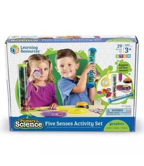 Conjunto de Atividades dos Cinco Sentidos - Primary Science