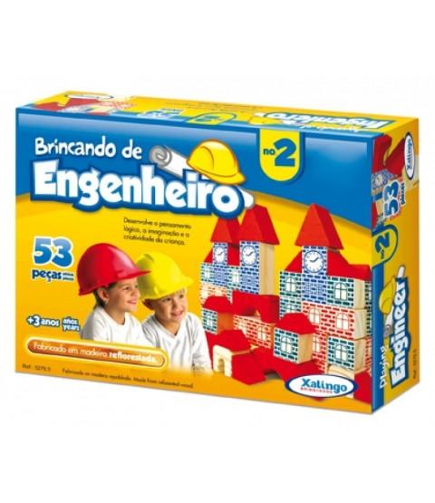 Brincando de Engenheiro 2 - 53 peças