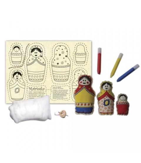 Boneca de Pano Matrioskas