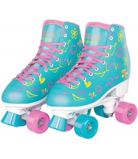 Patins Quatro Rodas Roller Skate - Azul