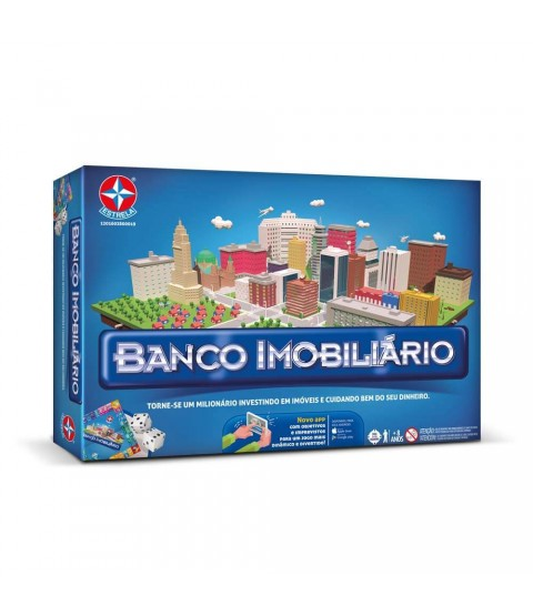 Jogo Banco Imobiliário com APP