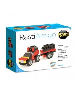 Blocos de Montar 4x4 Rally - Coleção Rasti Amigo