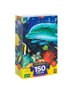 Puzzle Amigos do Mar - 150 peças