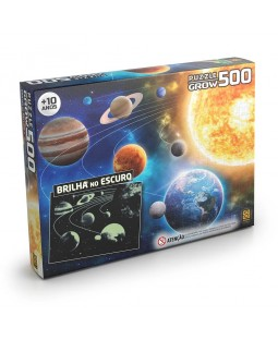 Puzzle Sistema Solar 500 peças
