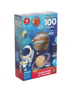 Puzzle Conhecendo os Planetas - 100 peças