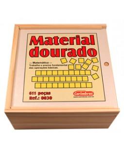 Material Dourado do Professor (611 peças) - Carimbrás