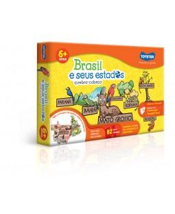 QC Brasil e seus Estados 82 Peças