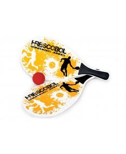 Jogo de Frescobol - Splash Amarelo