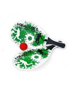 Jogo de Frescobol - Splash Verde