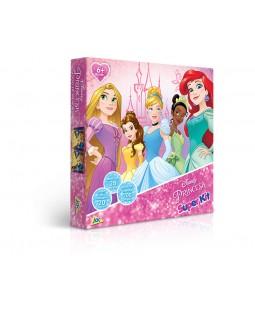 Super Kit - Disney Princesas - QC - Dominó - Jogo da Memória