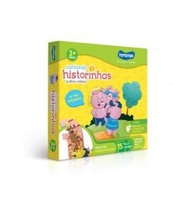 QC Contando Historinhas - 3 Porquinhos - 15 Peças