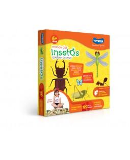 QC de Chão - Mundo dos insetos - 120 Peças