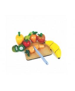 Coleção Comidinha - Kit Frutinhas com Corte
