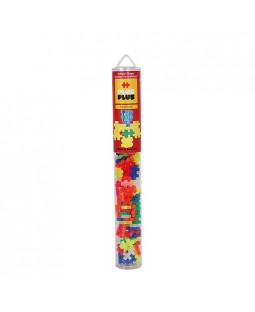 Plus-Plus Neon Mix Tube 100 peças