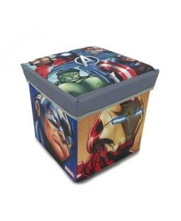 Banquinho Porta Objeto Avengers - Zippy Toys