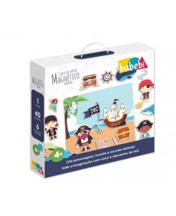 Quadro Magnético Piratas