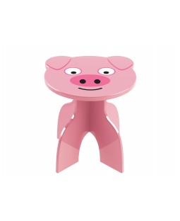 Banquinho Animalkids - Pig