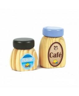 Coleção Comidinhas - Café e Açúcar