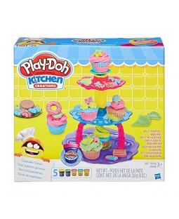 Massinha Play Doh Torre de Cupcake