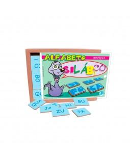 Alfabeto Silábico - 149 Peças - Simque