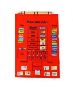 Calendário de Tecido - Português