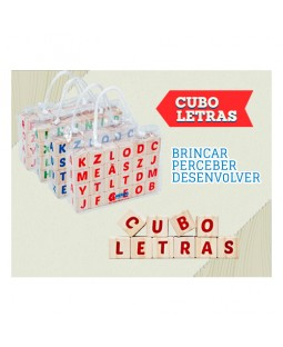 Cubo Letras - Hergg