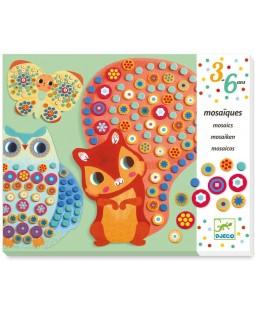 Colagem com mosaico Premium – Milflori Djeco
