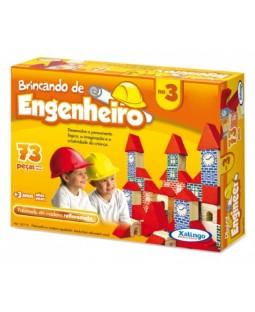Brincando de Engenheiro 3 - 73 peças