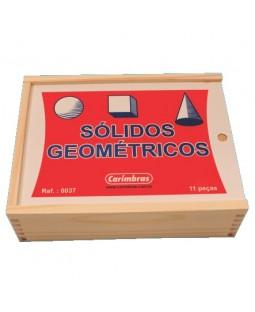 Sólidos Geométricos c/ 11 peças