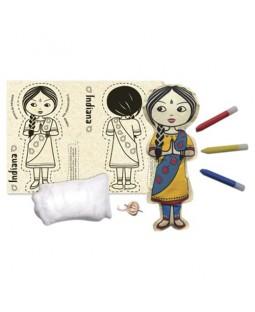 Boneca de Pano Indiana