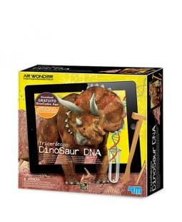 Kit de Escavação Tricerátopo Dino DNA