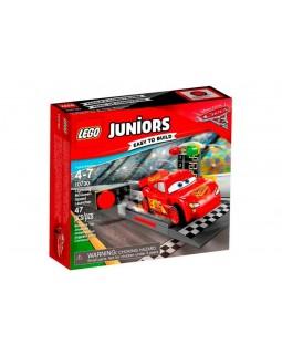 LEGO Juniors 10730 - Pista de Lançamento de Relâmpago McQueen