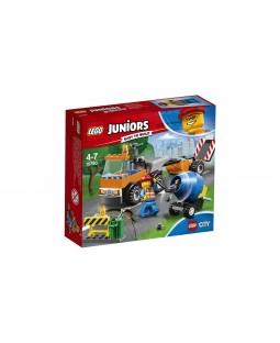 LEGO Juniors 10750 - Caminhão de Reparação das Estradas