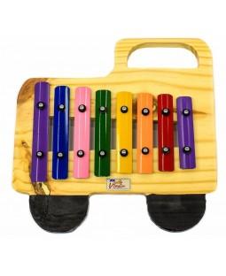 Metalofone Caminhão Colorido P2233