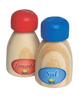 Coleção Comidinha - Sal e Pimenta