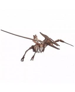 QC 3D Dinossauro Pterodáctilo 23 peças MDF