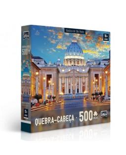 QC Basílica de São Pedro - 500 Peças